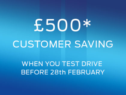 Fords February Test Drive Event