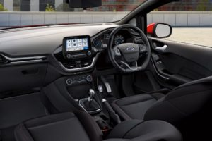 All-New Fiesta Van Interior