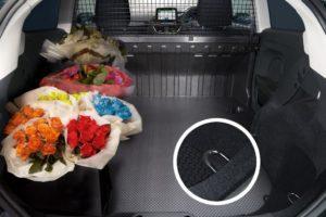 Load Space Fiesta Van
