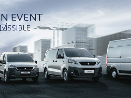 Peugeot Van Event