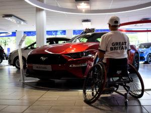 Success for wheelchair tennis player