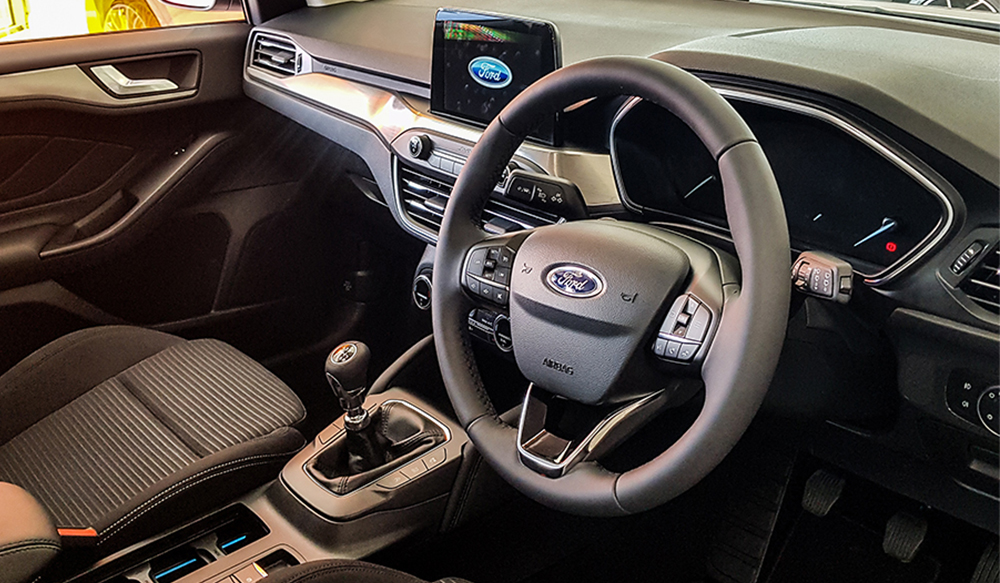 All-New Focus Interior