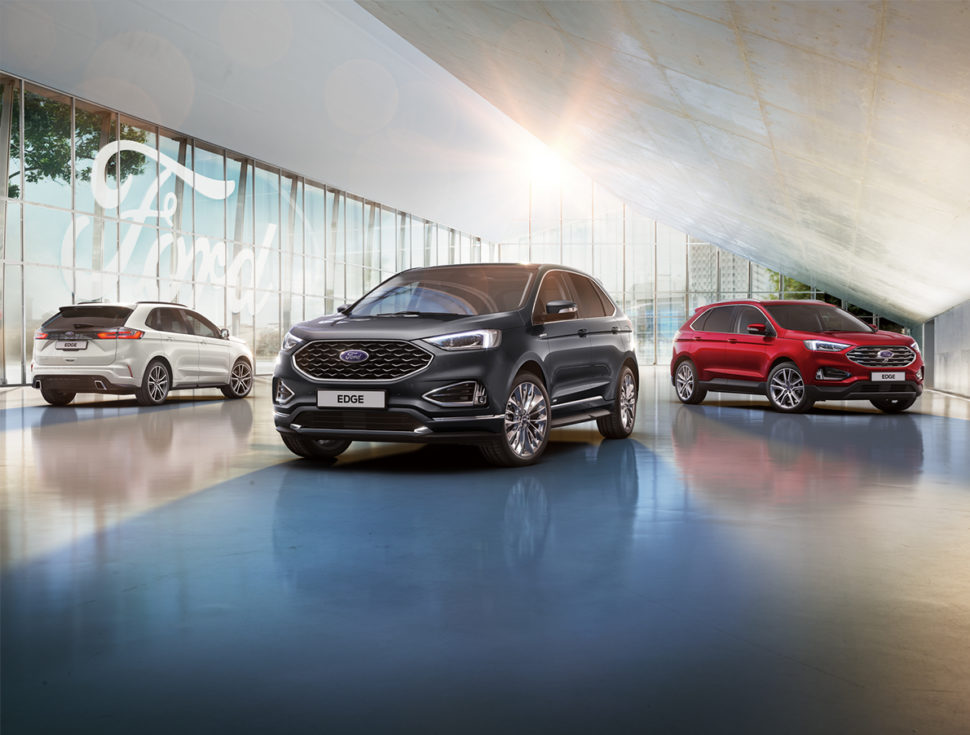 New Ford Edge Range