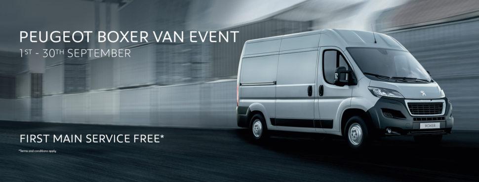 Peugeot Boxer Van Event