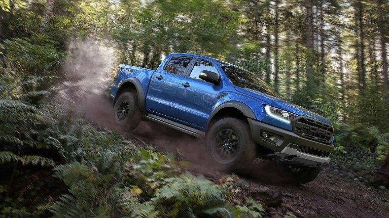 Ford Ranger Raptor terrain