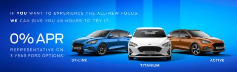 All-New Focus 48hr Test drive