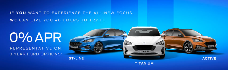 All-New Focus 48hr Test drive