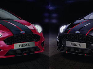 New Ford Fiesta ST-Line Red and Black Edition