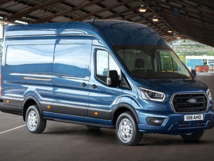 New Ford Transit Van