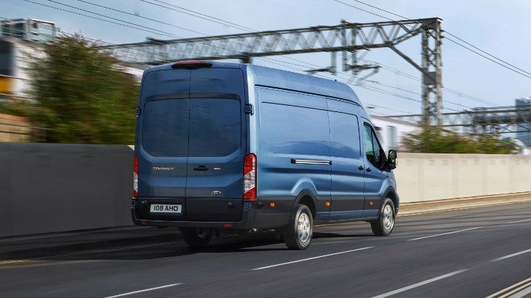 New Ford Transit Rear
