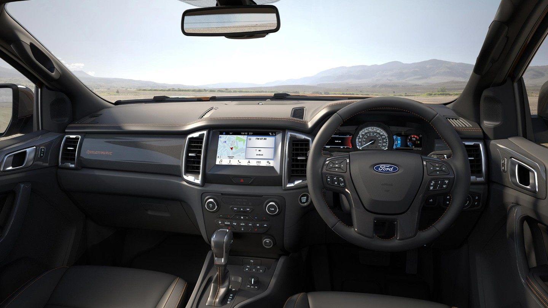 New Ford Ranger interior