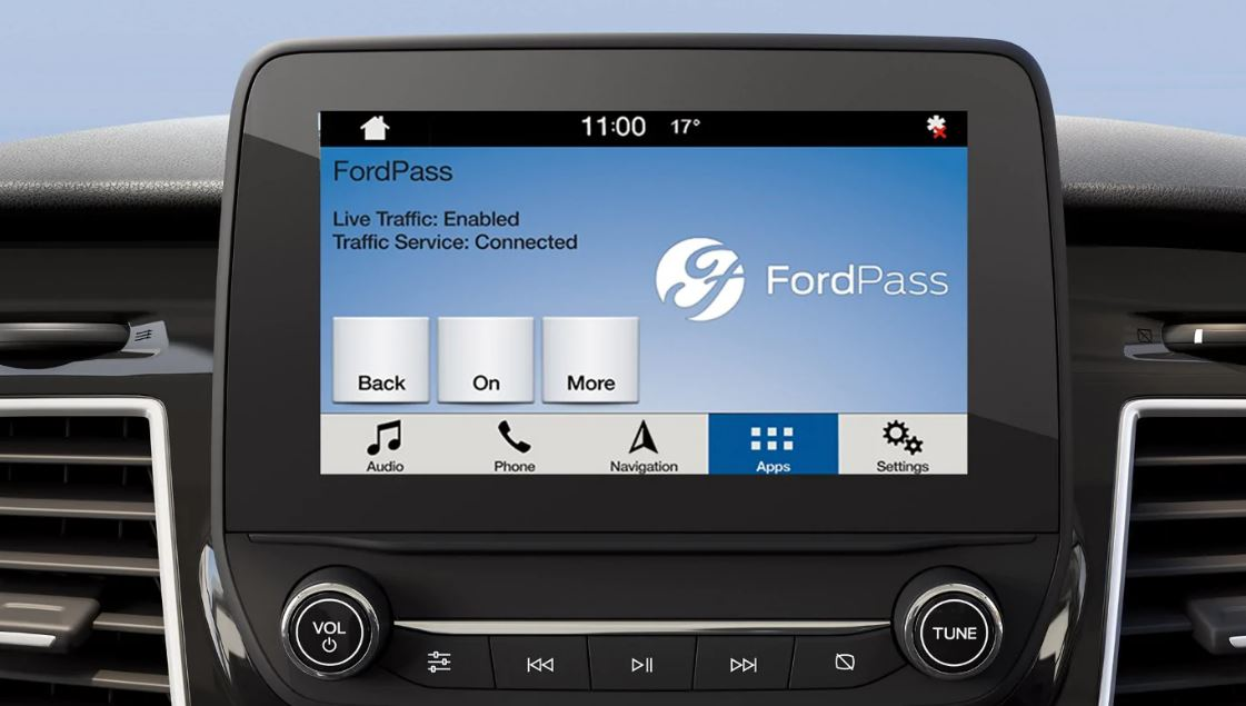 FordPass Connect screen