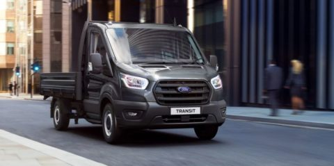 Transit Chassis Cab front view
