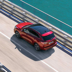 All-New Ford Kuga aerial view