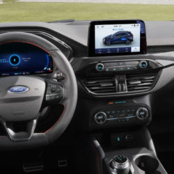 All-New Ford Kuga dashboard