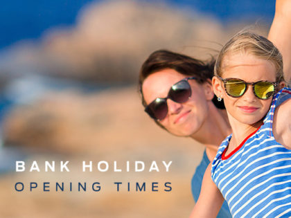 Bank Holiday Opening Times