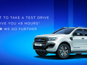 Ranger Wildtrak 48 hour test drive