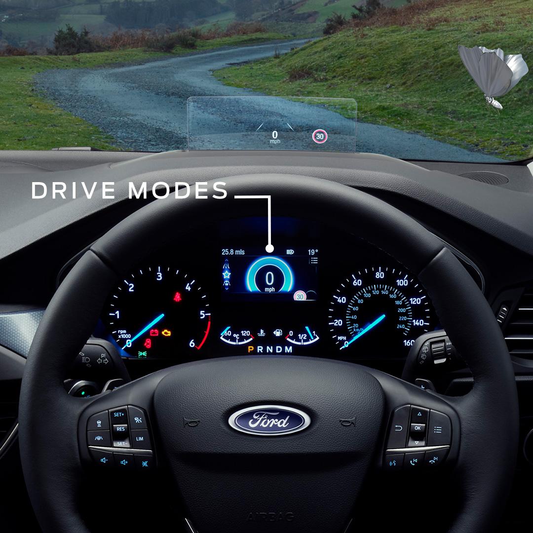 Focus Active Drive Modes