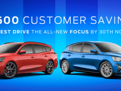 All-New Ford Focus Test Drive Event