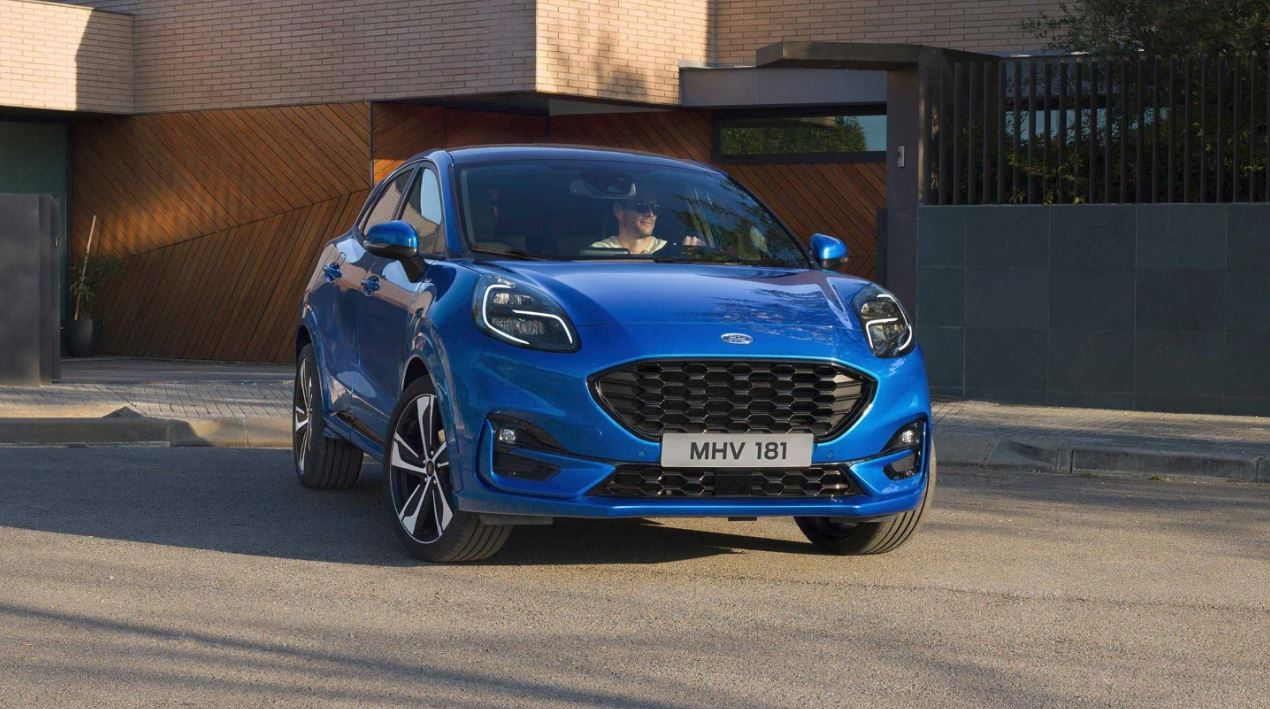 New Ford Puma front view