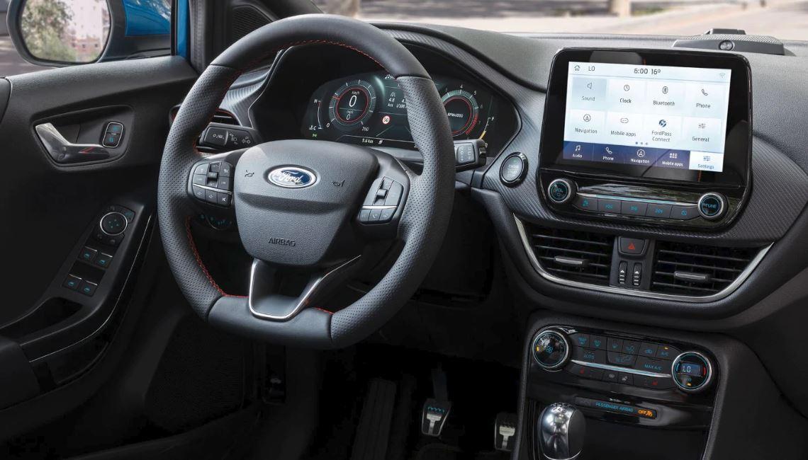New Ford Puma interior
