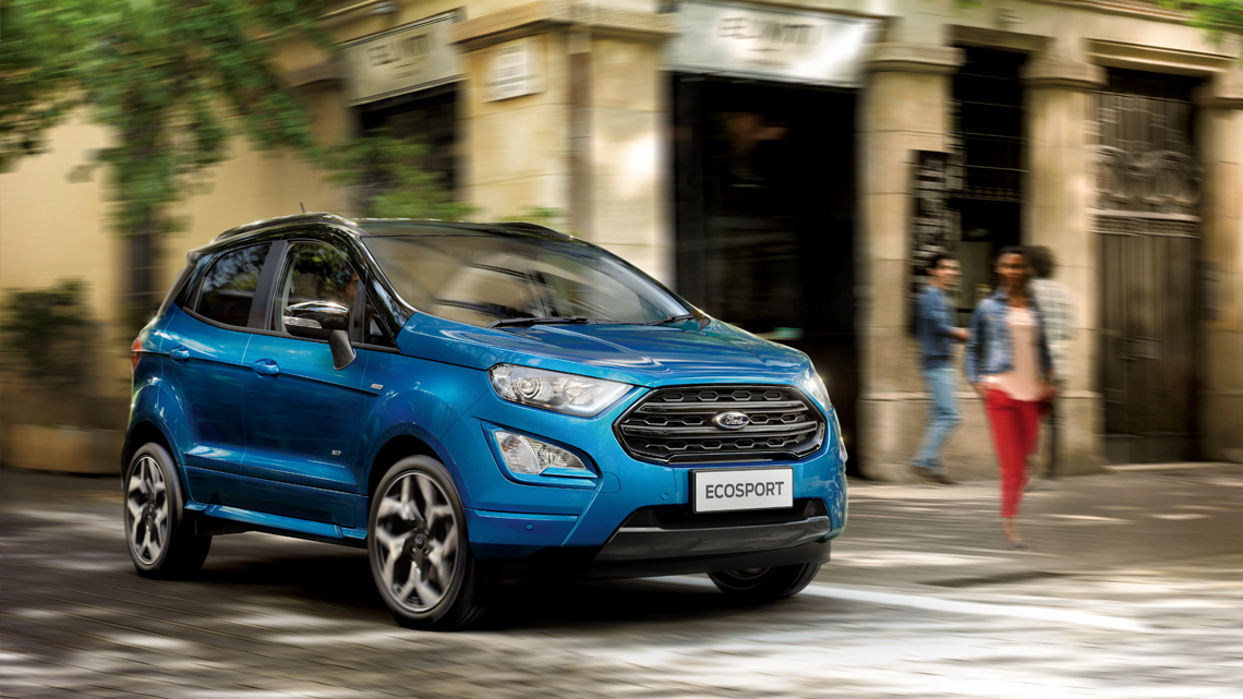 EcoSport front view