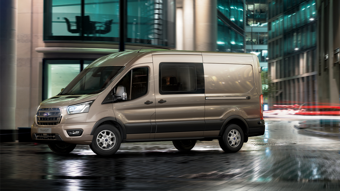 Ford Transit Side view