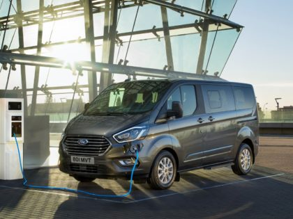 New Ford Tourneo Custom PHEV
