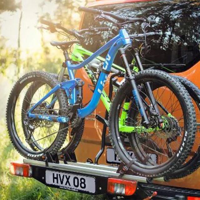 Transit Custom Nugget bike rack