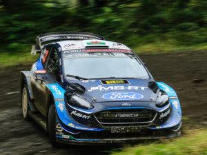 Ford Fiesta WRC at Whiffler Road Showroom