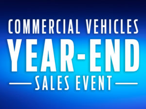 Commercial Vehicles Year-End Sales Event