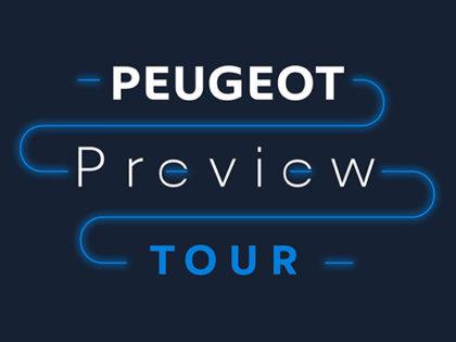 PEUGEOT Preview Tour
