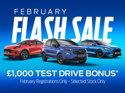 February Flash Sale Event