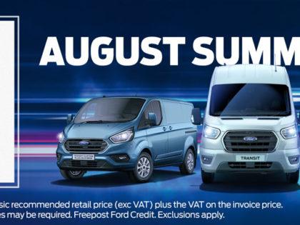 August Summer Sale