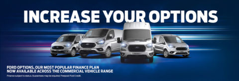 Increase your options - Ford Commercial vehicles