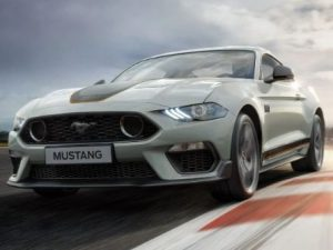 New Ford Mustang Mach 1