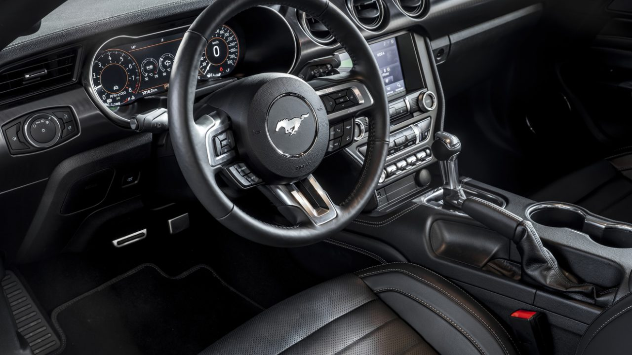 Mach 1 steering wheel