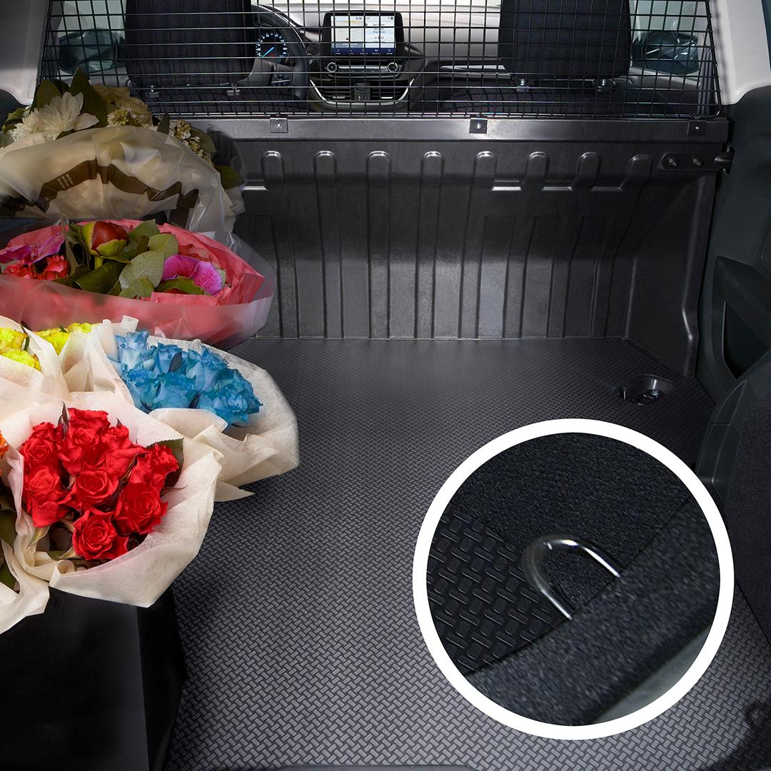 Fiesta Van Mild Hybrid Cargo Area