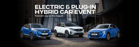 Peugeot hybrid line-up