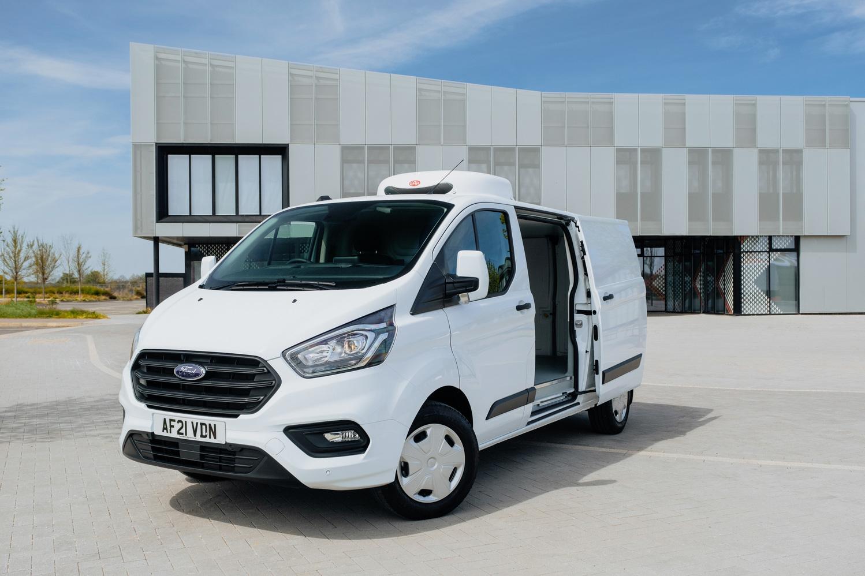 Transit Custom Freezer/Chiller van