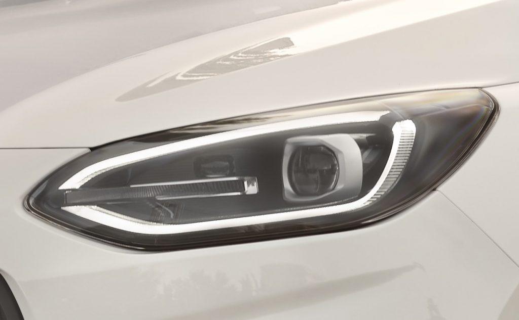 New Ford Fiesta Headlights