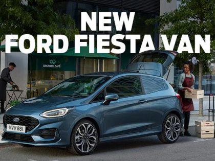 New Ford Fiesta Van