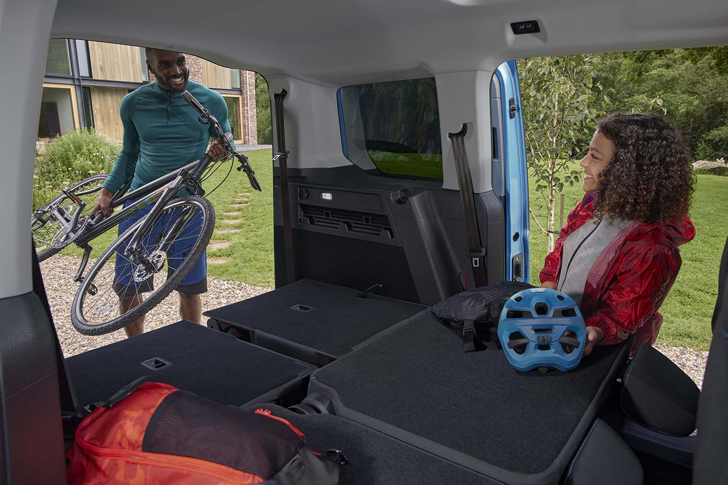 All-New Tourneo Connect Flexible and spacious